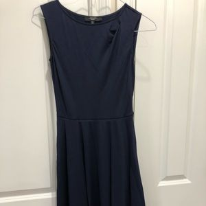 Navy classy dress